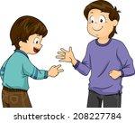 illustration featuring little... | Shutterstock .eps vector #208227784