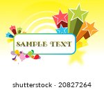 abstract funky vector... | Shutterstock .eps vector #20827264