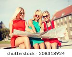 holidays and tourism concept  ... | Shutterstock . vector #208318924