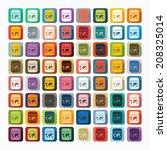 flat design  passport | Shutterstock .eps vector #208325014