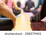 group meditation | Shutterstock . vector #208379401