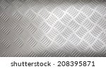 Small photo of Stainless-steel treadplate with a somewhat unusual tread pattern.