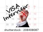 Visa Interview Date On Calenda...