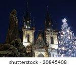Christmas Tree In Prague....