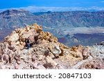 lonely girl standing on the top ... | Shutterstock . vector #20847103