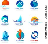 Collection Of Sea Icons  ...