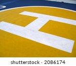 heliport in a ship   Shutterstock . vector #2086174