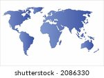 world map vector.map from http  ... | Shutterstock .eps vector #2086330