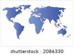 world map vector.map from http  ... | Shutterstock .eps vector #2086330