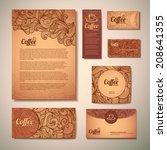 coffee concept design | Shutterstock .eps vector #208641355