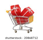 Shopping Cart With Presents...