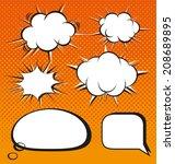 vector illustration of  ... | Shutterstock .eps vector #208689895