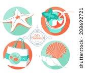 Vector Illustration Summer...