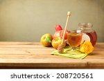 rosh hashanah celebration.... | Shutterstock . vector #208720561