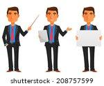 cartoon illustration of a... | Shutterstock .eps vector #208757599