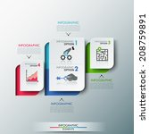 modern infographics options... | Shutterstock .eps vector #208759891