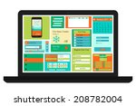 vector templates for website ...