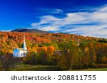 Fall Foliage And The Stowe...
