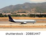 Large Passenger Airplane On The ...