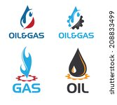 oil and gas industry... | Shutterstock .eps vector #208833499