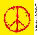 Peace Sign Vector Art