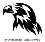 stellers's eagle head design  ... | Shutterstock . vector #208899991