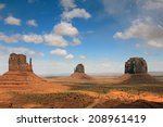 The Mittens In Monument Valley...