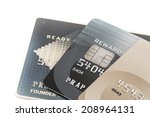 close up credit card | Shutterstock . vector #208964131