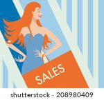 the colorful vector... | Shutterstock .eps vector #208980409