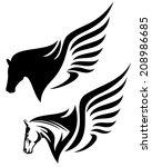 Pegasus Profile Head Design  ...