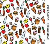 cartoon vector illustration of... | Shutterstock .eps vector #208995565