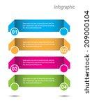 modern design template  can be... | Shutterstock .eps vector #209000104