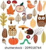 Autumn Floral Background....