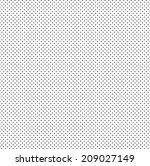 vector halftone dots. black... | Shutterstock .eps vector #209027149