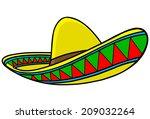 sombrero | Shutterstock .eps vector #209032264