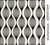 vector pattern. modern stylish... | Shutterstock .eps vector #209097499