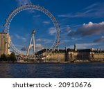the london eye as seen from...