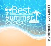 vector hipster  retro  abstract ... | Shutterstock .eps vector #209128855