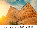 Ancient Wall In Old City...