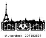 Paris City Easy Editable...