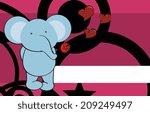 elephant baby cute cartoon...