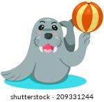 illustration of isolated... | Shutterstock .eps vector #209331244