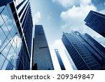 metropolis of shanghai's modern ... | Shutterstock . vector #209349847