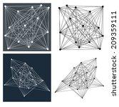 jpeg version of geometric... | Shutterstock . vector #209359111