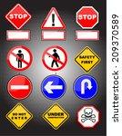 road board  | Shutterstock .eps vector #209370589