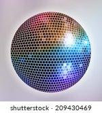 disco background | Shutterstock .eps vector #209430469