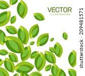 vector abstract background of... | Shutterstock .eps vector #209481571