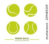 Tennis Design Over White ...