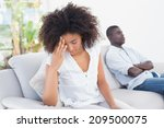 attractive couple having an... | Shutterstock . vector #209500075