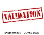 rubber stamp with word... | Shutterstock .eps vector #209511031